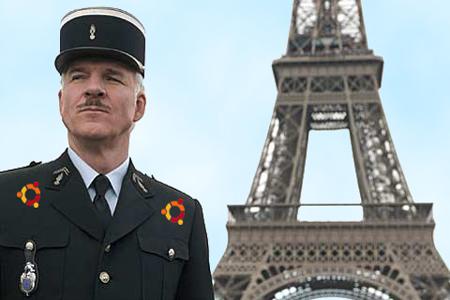 Policía francesa un minuto antes de la detención de Samuel